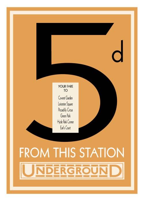 londres london metro undergroud affiche poster 20 500x700 150 ans daffiches du métro de Londres