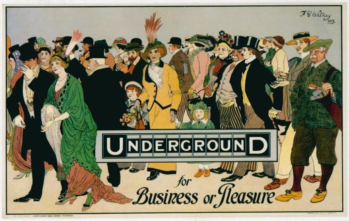 londres london metro undergroud affiche poster 24 720x456 150 ans daffiches du métro de Londres
