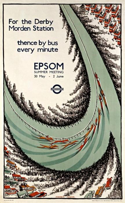 londres london metro undergroud affiche poster 25 432x700 150 ans daffiches du métro de Londres