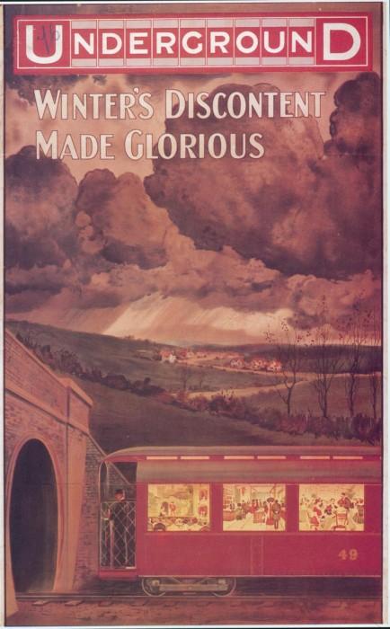 londres london metro undergroud affiche poster 26 434x700 150 ans daffiches du métro de Londres
