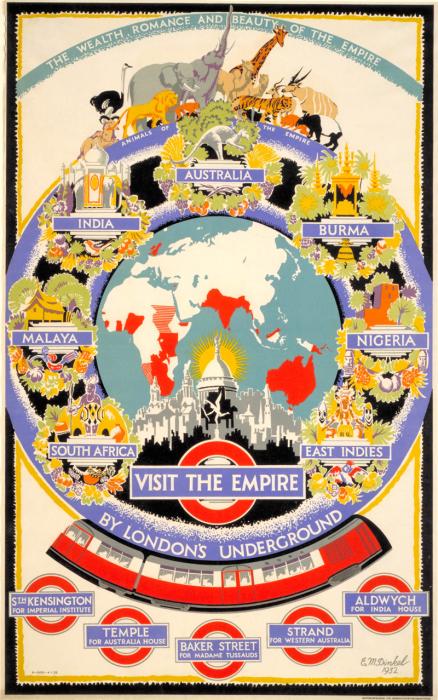 londres london metro undergroud affiche poster 33 438x700 150 ans daffiches du métro de Londres  histoire design bonus art