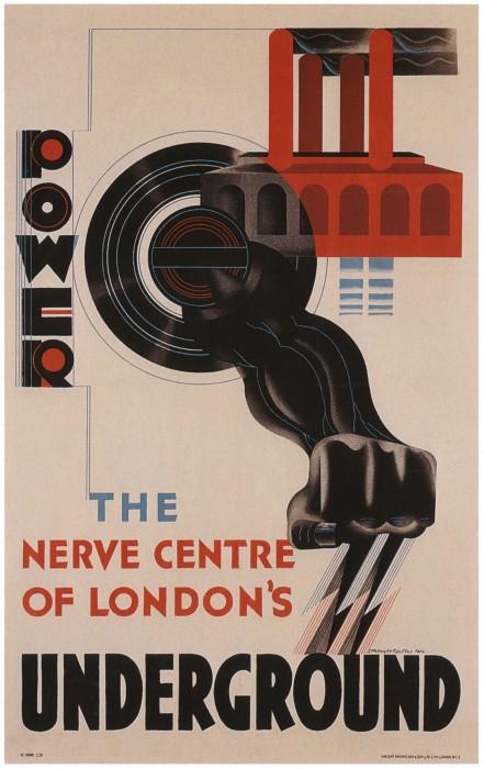 londres london metro undergroud affiche poster 37 441x700 150 ans daffiches du métro de Londres