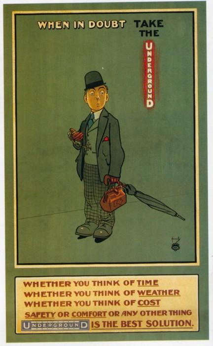 londres london metro undergroud affiche poster 38 432x700 150 ans daffiches du métro de Londres