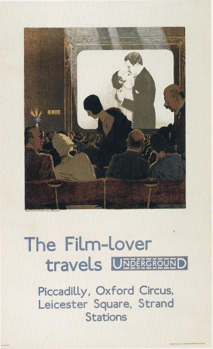 londres london metro undergroud affiche poster 40 427x700 150 ans daffiches du métro de Londres