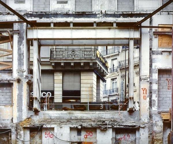 Rue Auber Ð Paris 9 - 1996 Ilfochrome Ð 104 x 130 cm Ð 3 ex.