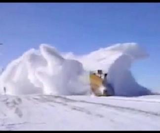 Des trains chasse-neiges