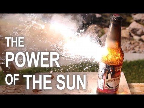 S'amuser avec un four solaire dans son jardin
