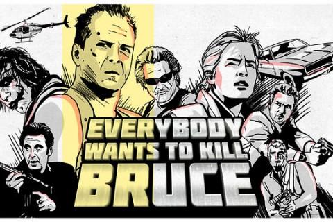 Tout le monde veut tuer Bruce ( Willis )