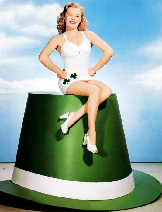 June_Haver-saint-patrick-pinup