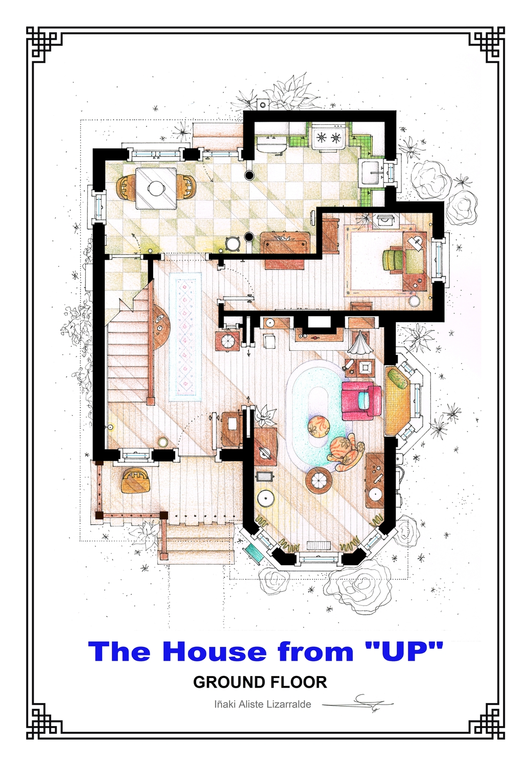 Des plans d 39 appartements de films et s ries for The house plan shop