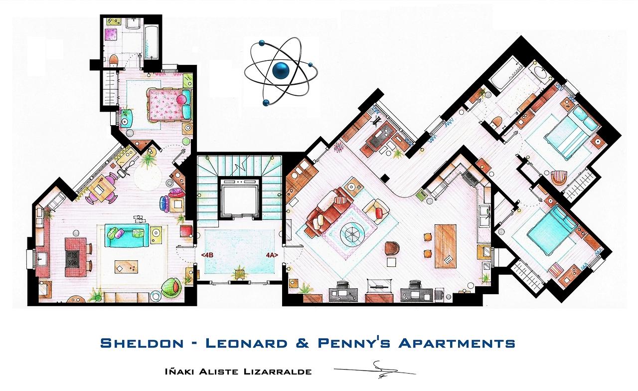 Film serie appartement plan 04