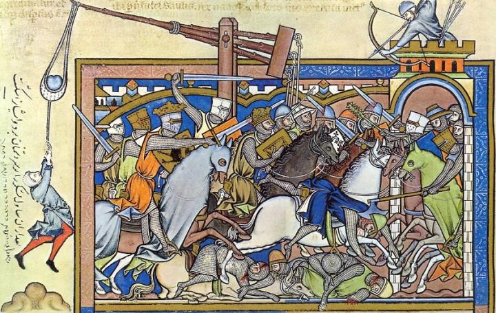 marginalia enluminure etrange moyen age 06 720x455 Des enluminures étranges au Moyen Age  peinture 2 histoire design bonus art