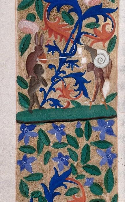 marginalia enluminure etrange moyen age 21 433x700 Des enluminures étranges au Moyen Age  peinture 2 histoire design bonus art