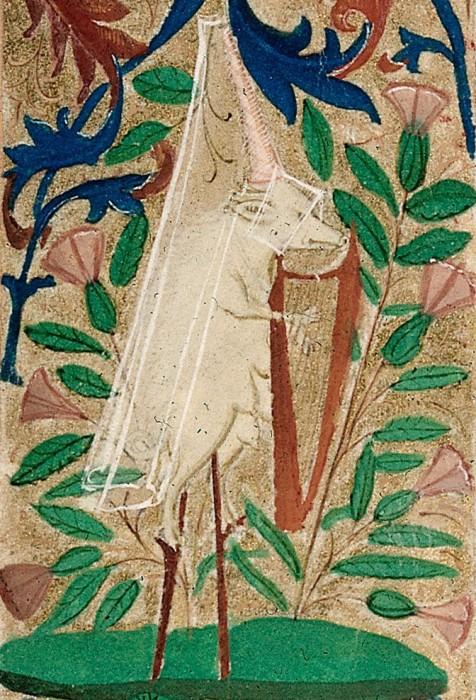 marginalia enluminure etrange moyen age 30 476x700 Des enluminures étranges au Moyen Age  peinture 2 histoire design bonus art