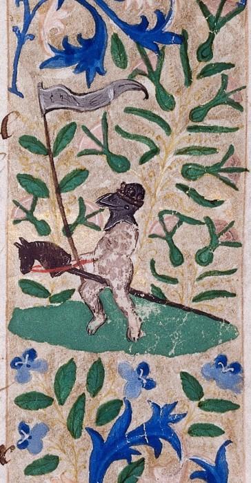 marginalia enluminure etrange moyen age 36 364x700 Des enluminures étranges au Moyen Age  peinture 2 histoire design bonus art
