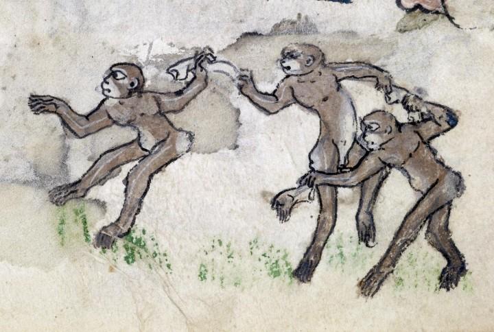 marginalia enluminure etrange moyen age 37 720x484 Des enluminures étranges au Moyen Age  peinture 2 histoire design bonus art