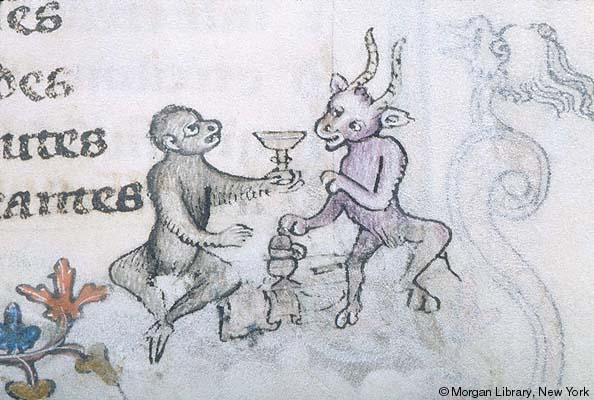 marginalia enluminure etrange moyen age 46 Des enluminures étranges au Moyen Age  peinture 2 histoire design bonus art
