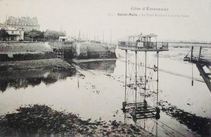 pont roulant saint malo 03 720x469 Le pont roulant de Saint Malo  photo lieux information histoire bonus