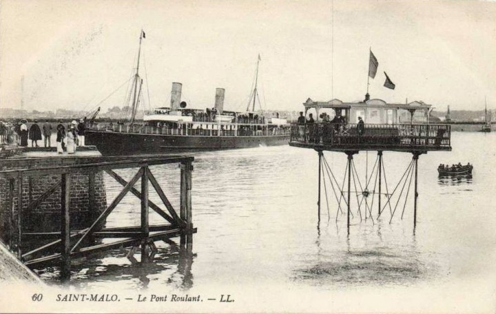 pont roulant saint malo 10 720x456 Le pont roulant de Saint Malo  photo lieux information histoire bonus