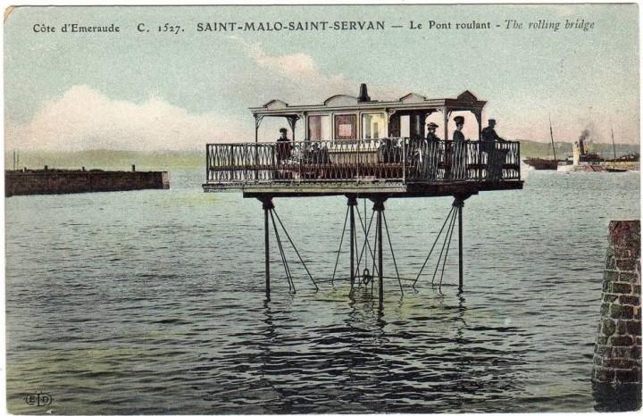pont roulant saint malo 11 720x466 Le pont roulant de Saint Malo  photo lieux information histoire bonus