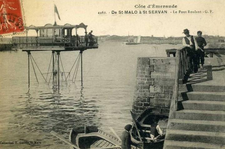pont roulant saint malo 12 720x478 Le pont roulant de Saint Malo  photo lieux information histoire bonus