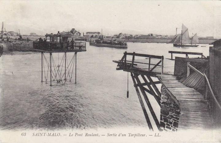 pont roulant saint malo 13 720x467 Le pont roulant de Saint Malo  photo lieux information histoire bonus