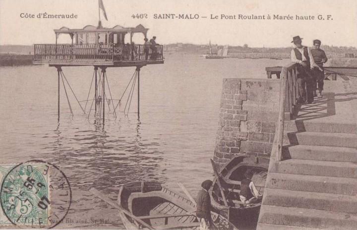 pont roulant saint malo 14 720x464 Le pont roulant de Saint Malo  photo lieux information histoire bonus