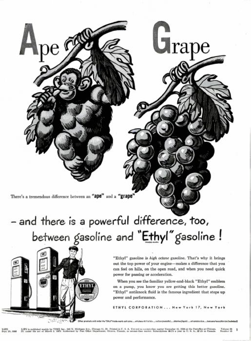 publicite-petrole-Ethyl-essence-1950-03