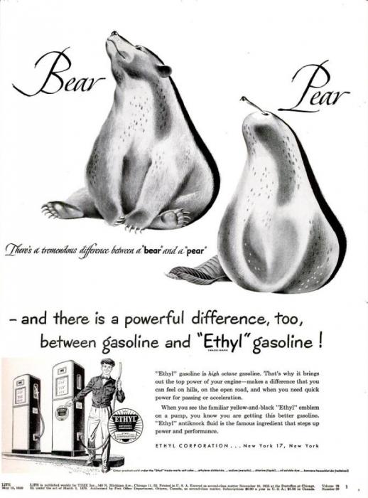 publicite-petrole-Ethyl-essence-1950-04