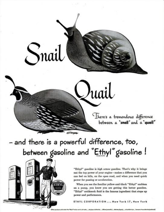 publicite-petrole-Ethyl-essence-1950-06