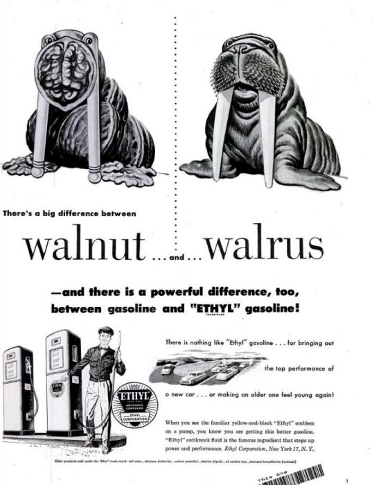 publicite-petrole-Ethyl-essence-1950-10