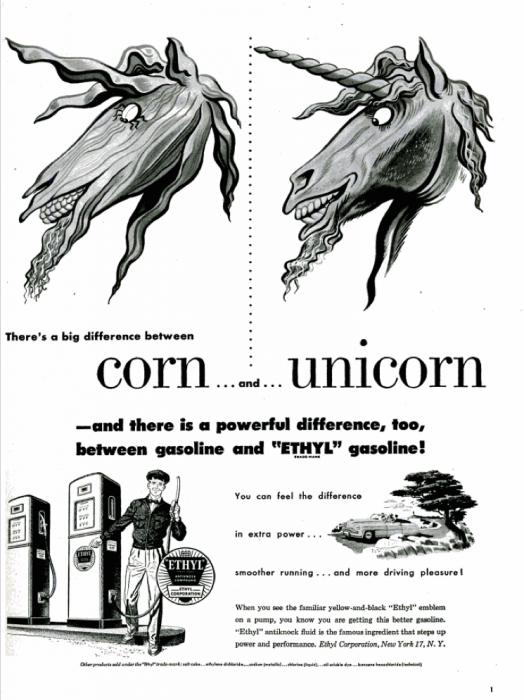 publicite-petrole-Ethyl-essence-1950-11
