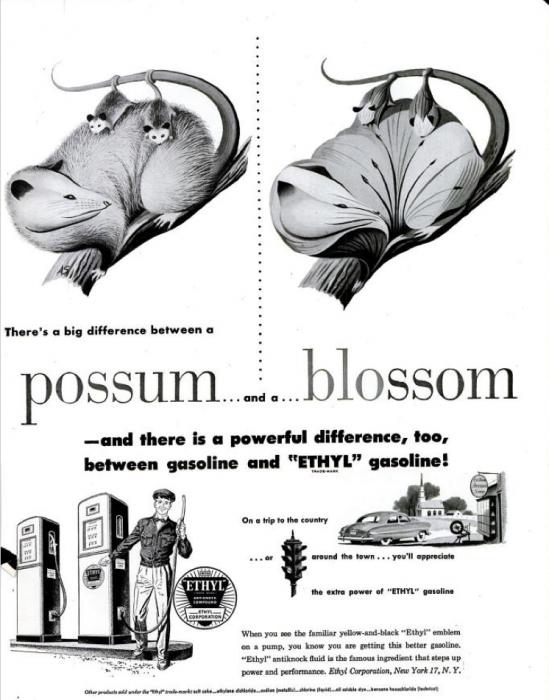 publicite-petrole-Ethyl-essence-1950-12