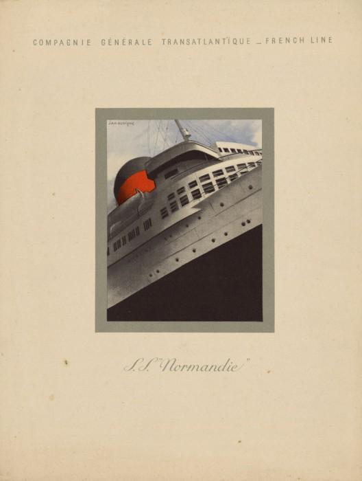 SS Normandie - 1939 - Bibliothèque municipale de Dijon
