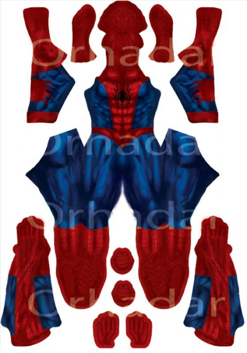 Comment fabriquer un costume de Spiderman Comment fabriquer costume spiderman 01 489x700