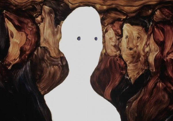 Une animation peinte sur verre