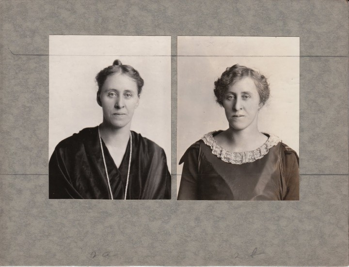 avant apres maquillage 01 720x551 Avant et après le maquillage en 1928  photographie histoire bonus