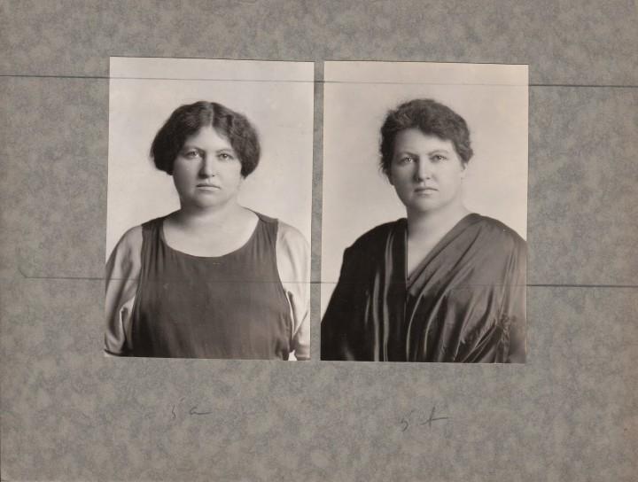 avant apres maquillage 02 720x544 Avant et après le maquillage en 1928  photographie histoire bonus