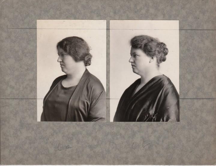 avant apres maquillage 03 720x552 Avant et après le maquillage en 1928  photographie histoire bonus