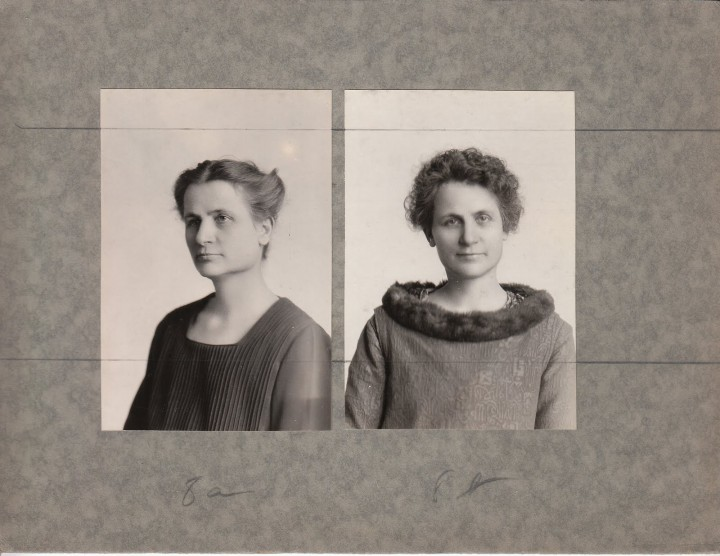 avant apres maquillage 04 720x556 Avant et après le maquillage en 1928  photographie histoire bonus