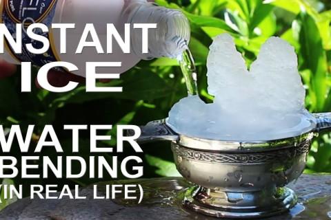 Jouer avec la surfusion de l'eau