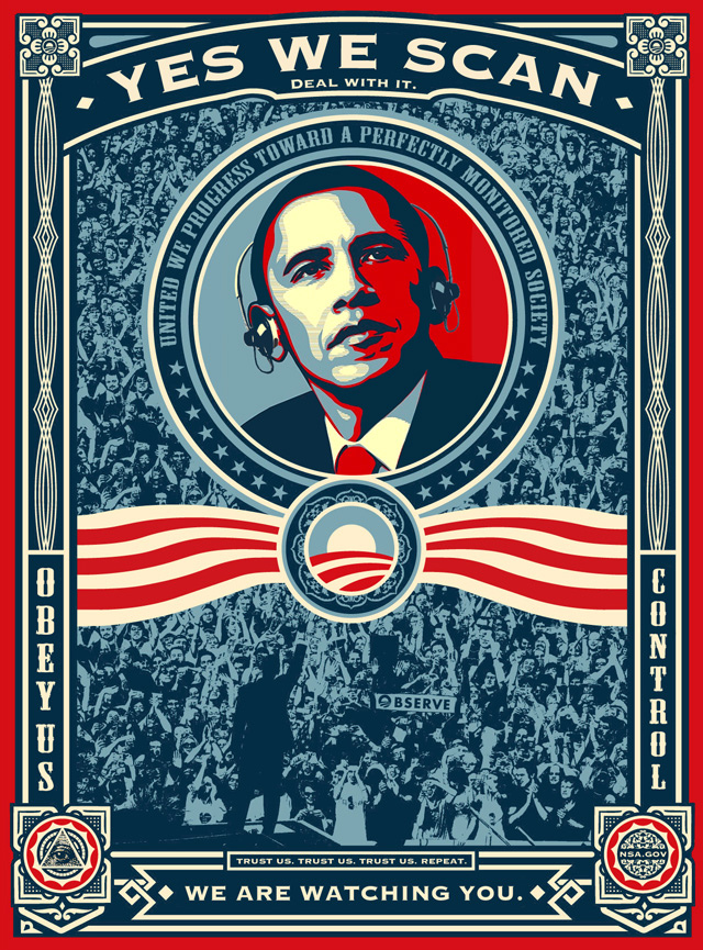 Est-il possible de réformer la NSA ? Obama-yes-we-scan