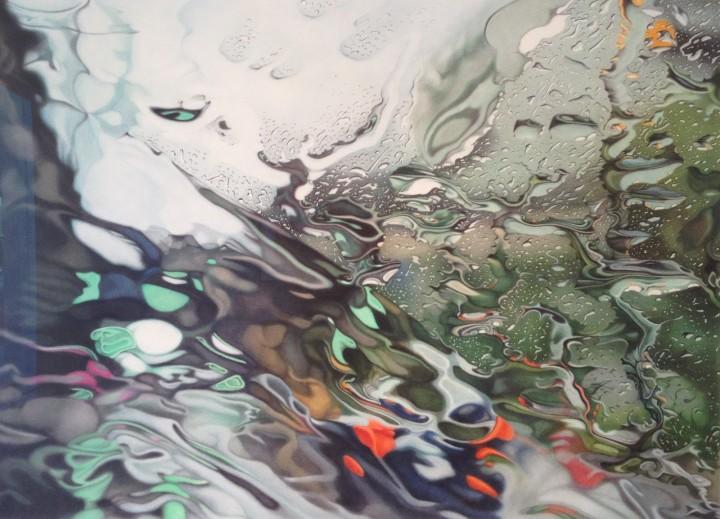 peinture eau voiture 03 720x519 Des peintures de la pluie en voiture  peinture 2 bonus art