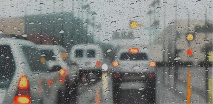 peinture eau voiture 04 720x352 Des peintures de la pluie en voiture  peinture 2 bonus art