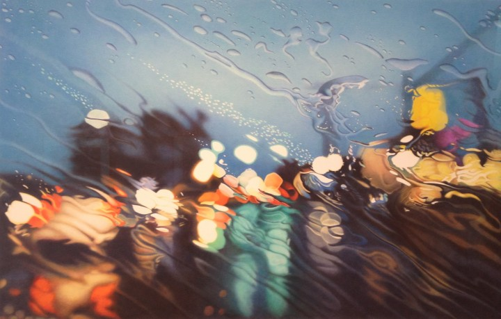 peinture eau voiture 05 720x459 Des peintures de la pluie en voiture  peinture 2 bonus art