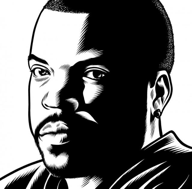 Des Portraits Illustrés En Noir Et Blanc