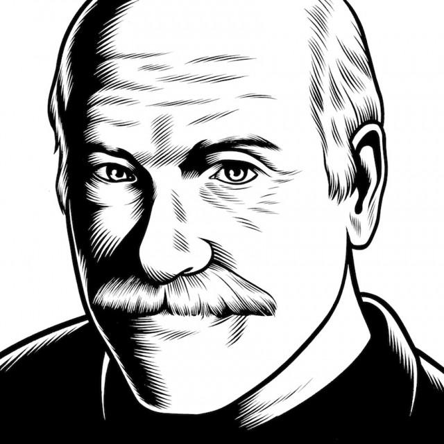 portrait noir blanc dessin 15 Des portraits illustrés en noir et blanc  design bonus