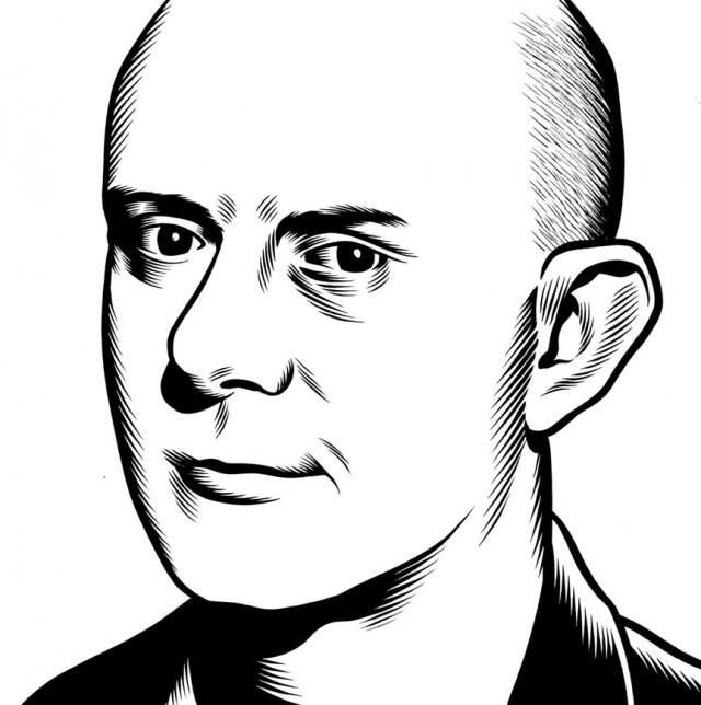 portrait noir blanc dessin 20 Des portraits illustrés en noir et blanc  design bonus