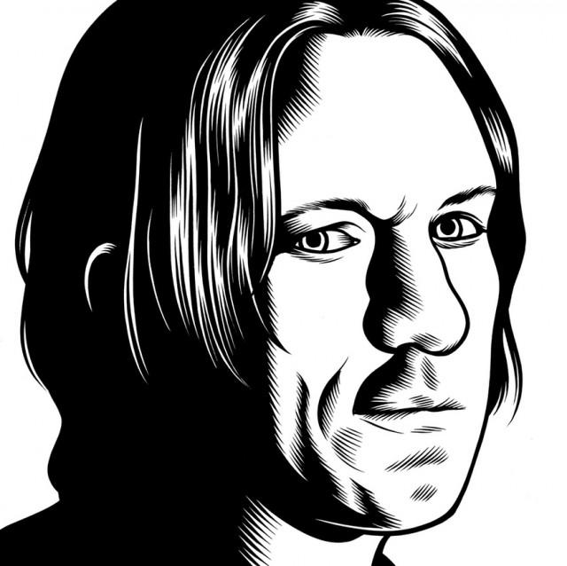 portrait noir blanc dessin 24 Des portraits illustrés en noir et blanc  design bonus