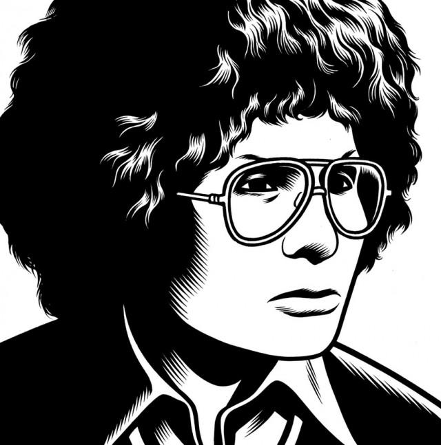 portrait noir blanc dessin 26 Des portraits illustrés en noir et blanc  design bonus